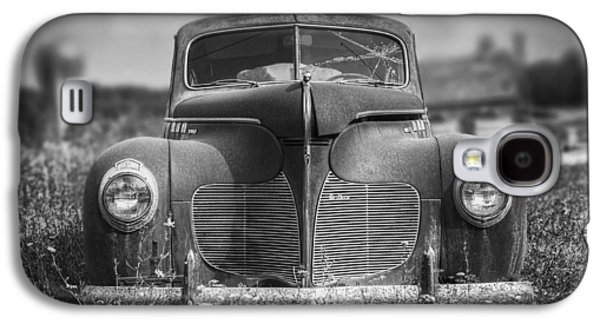 1940 Desoto Deluxe Black And White Galaxy S4 Case by Scott Norris