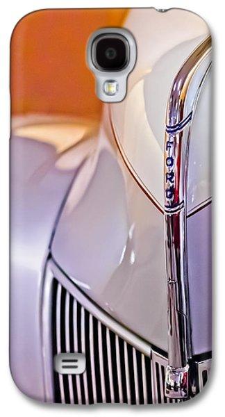 1940 Ford Hood Ornament Galaxy S4 Case by Jill Reger