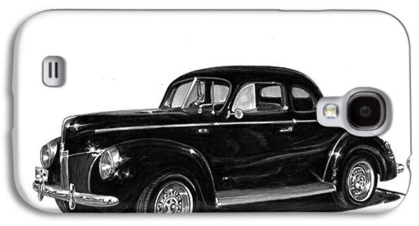 1940 Ford Restro Rod Galaxy S4 Case by Jack Pumphrey