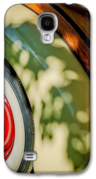 1940 International D-2 Station Wagon Wheel Galaxy S4 Case by Jill Reger
