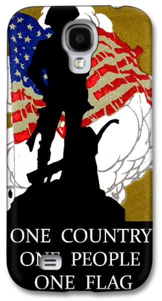 1940 One Country Galaxy S4 Case by Historic Image