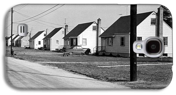 1940's Housing Development Galaxy S4 Case by Underwood Archives