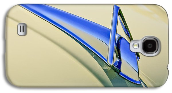 1949 Hudson Super Six  Hood Ornament Galaxy S4 Case by Jill Reger