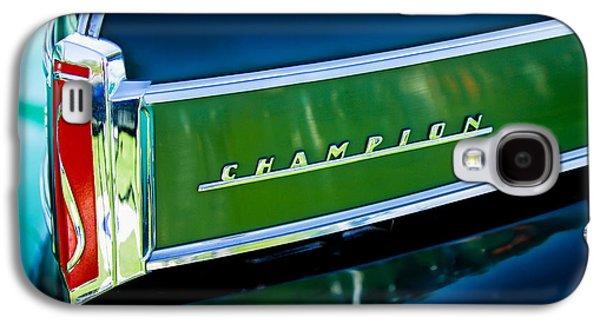 1941 Sudebaker Champion Coupe Emblem Galaxy S4 Case by Jill Reger