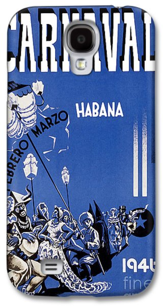 1946 Carnaval Vintage Travel Poster Galaxy S4 Case