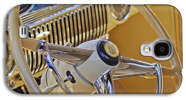 1947 Cadillac 62 Steering Wheel Galaxy S4 Case by Jill Reger