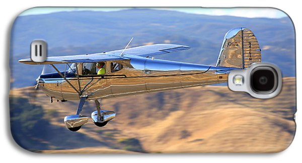 1947 Cessna 140 Fly-by N4151n Galaxy S4 Case