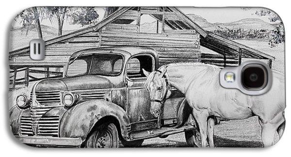 1947 Dodge Pick Up And Codi Galaxy S4 Case