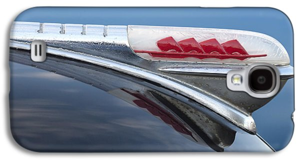 1947 Plymouth Hood Ornament Galaxy S4 Case by Jill Reger