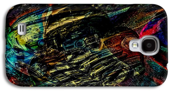 1948 Chevy Abstract Art Galaxy S4 Case