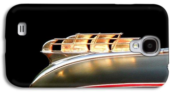 1949 Plymouth Schooner Hood Ornament Galaxy S4 Case by Renee Trenholm