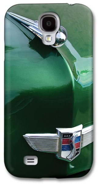 1949 Studebaker Champion Hood Ornament Galaxy S4 Case by Jill Reger