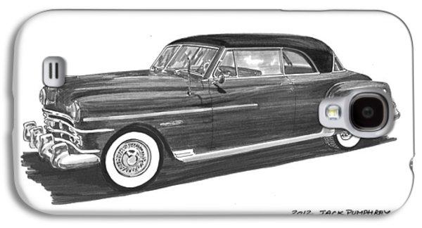 1950 Chrysler Newport Galaxy S4 Case by Jack Pumphrey