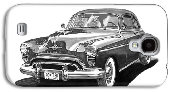 Oldsmobile Rocket 88 Galaxy S4 Case by Jack Pumphrey