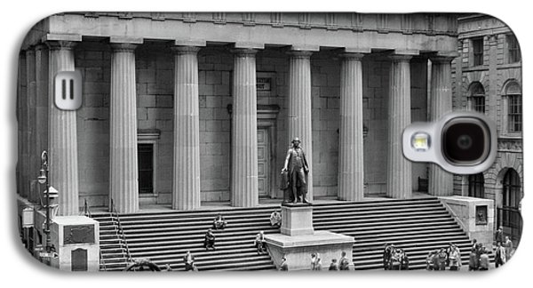 1950s 1958 Wall Street Federal Hall Galaxy S4 Case