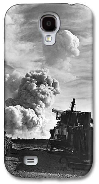 1950's Atomic Cannon Test Galaxy S4 Case