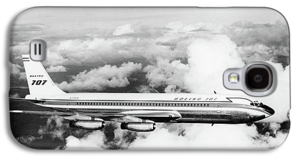 1950s Boeing 707 Passenger Jet Flying Galaxy S4 Case