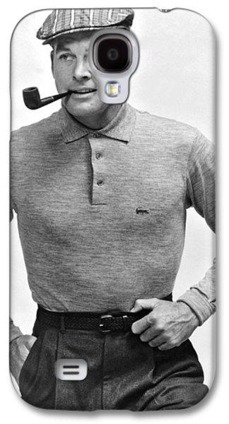 1950s Fashionable Man Galaxy S4 Case