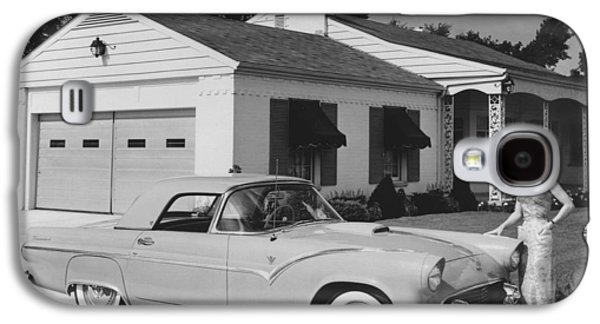 1950s Ford Thunderbird Galaxy S4 Case