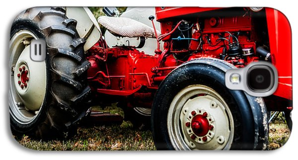 1950s-vintage Ford 601 Workmaster Tractor Galaxy S4 Case by Jon Woodhams
