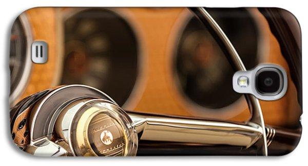 1952 Sterling Gladwin Maverick Sportster Steering Wheel Emblem -1848c Galaxy S4 Case by Jill Reger