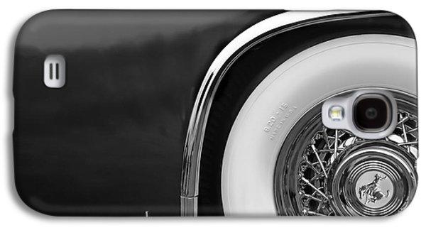 1952 Sterling Gladwin Maverick Sportster Wheel Emblem - 0321bw Galaxy S4 Case by Jill Reger