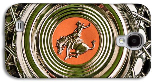 1952 Sterling Gladwin Maverick Sportster Wheel Emblem - 1720c Galaxy S4 Case by Jill Reger