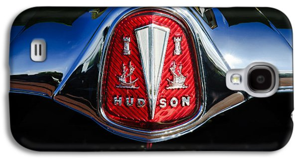 1953 Hudson Hornet Sedan Emblem Galaxy S4 Case by Jill Reger