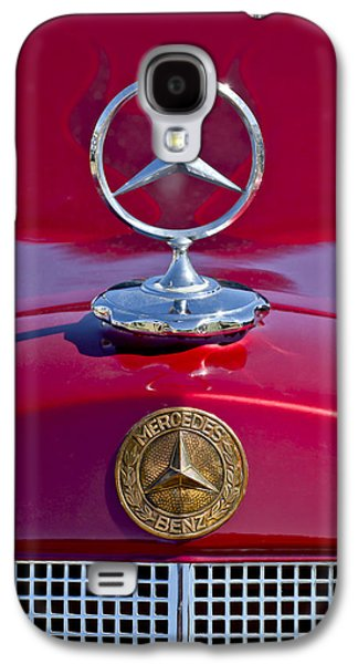 1953 Mercedes Benz Hood Ornament Galaxy S4 Case by Jill Reger
