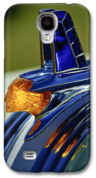 1953 Pontiac Hood Ornament 3 Galaxy S4 Case by Jill Reger