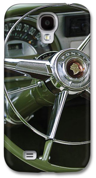 1953 Pontiac Steering Wheel Galaxy S4 Case by Jill Reger