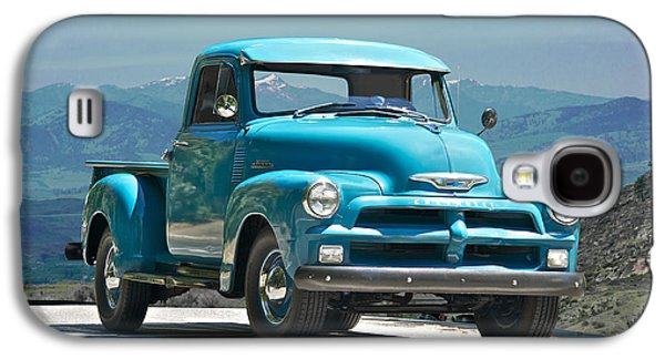 1954 Chevrolet 'down Home' Pick Up Truck Galaxy S4 Case