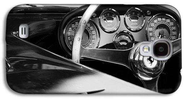 1954 Ferrari 500 Mondial Spyder Steering Wheel Emblem Galaxy S4 Case by Jill Reger