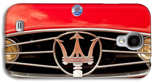 1954 Maserati A6 Gcs Grille Emblem -0259c Galaxy S4 Case by Jill Reger
