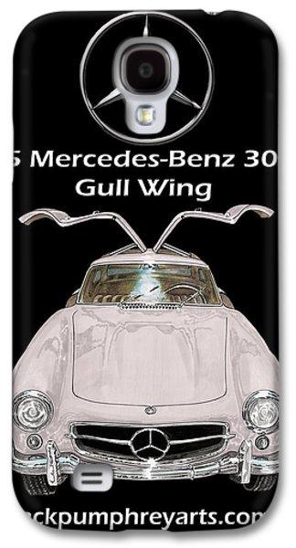 1955 Mercedes Benz 300 S L Gull Wing Galaxy S4 Case by Jack Pumphrey