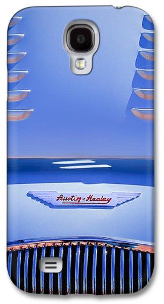 1956 Austin-healey 100m Bn2 'factory' Le Mans Competition Roadster Hood Emblem Galaxy S4 Case