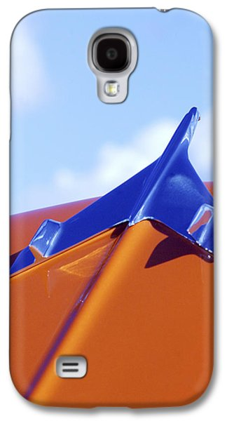 1956 Chevrolet Belair Hood Ornament Galaxy S4 Case by Jill Reger