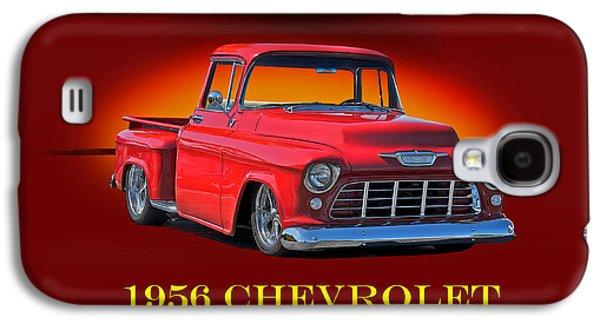 1956 Chevrolet Custom Pick Up Galaxy S4 Case