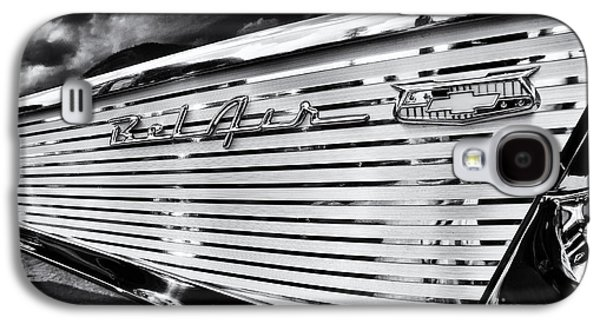 1957 Chevrolet Bel Air Monochrome Galaxy S4 Case by Tim Gainey