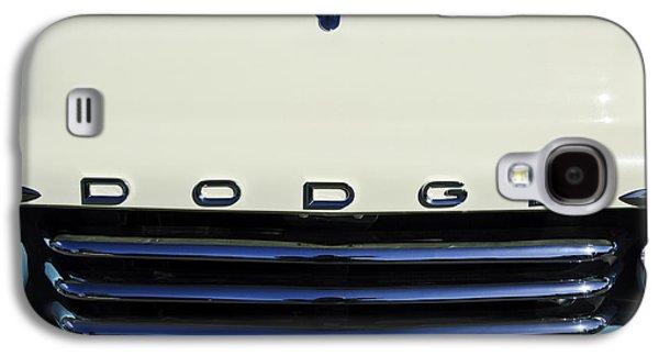 1958 Dodge Sweptside Truck Grille Galaxy S4 Case by Jill Reger