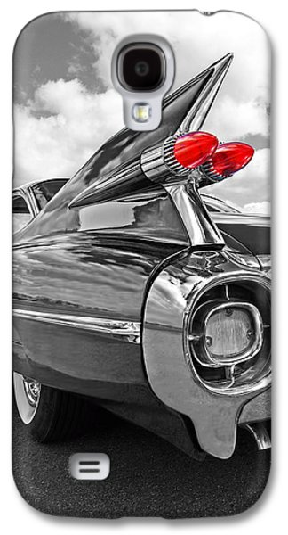 1959 Cadillac Tail Fins Galaxy S4 Case by Gill Billington