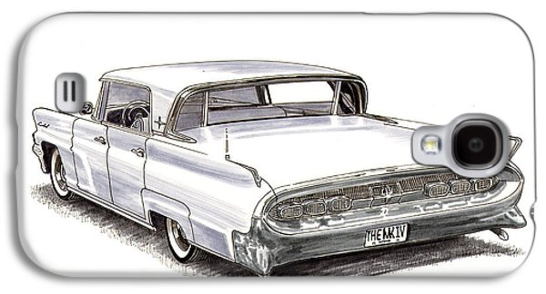 1960 Continental Galaxy S4 Case by Jack Pumphrey