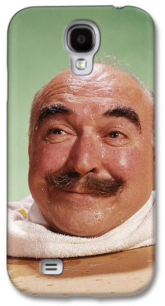 1960s Head Of Smiling Bald Man Galaxy S4 Case