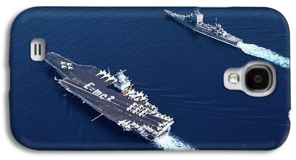 1960s Three Naval Ships On Parallel Galaxy S4 Case