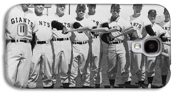 Baseball Bats Galaxy S4 Case - 1961 San Francisco Giants by Underwood Archives