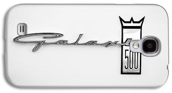 1963 Ford Galaxie 500 R-code Factory Lightweight Emblem Galaxy S4 Case