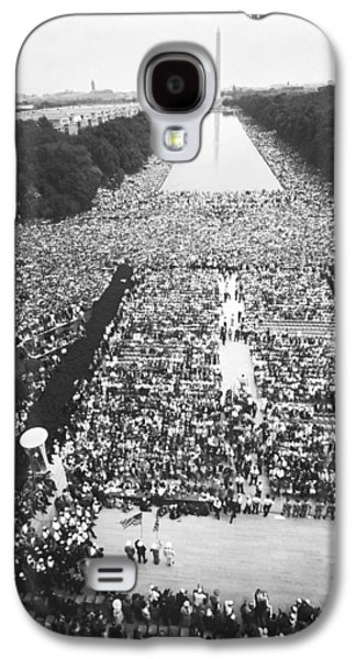 1963 March On Washington Galaxy S4 Case by Warren Leffler