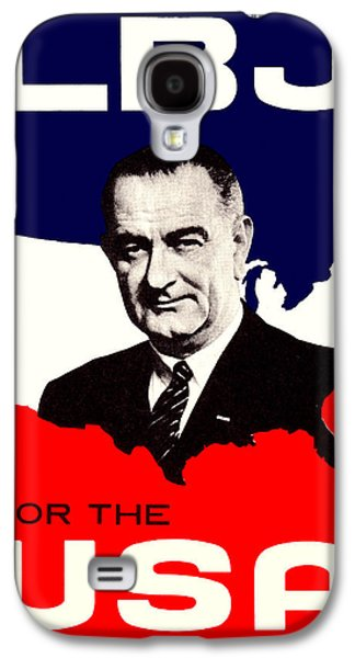 1964 Lbj For The Usa Galaxy S4 Case by Historic Image
