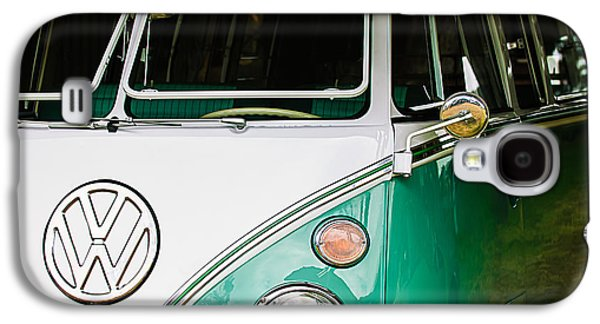 1964 Volkswagen Vw Samba 21 Window Bus Galaxy S4 Case by Jill Reger