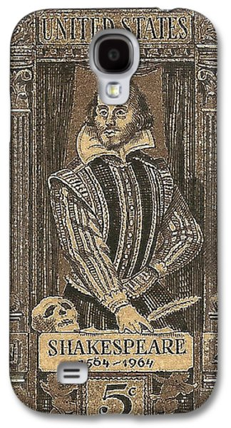 1964 William Shakespeare Postage Stamp Galaxy S4 Case by David Patterson